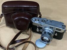 Leica M3 Rangefinder Camera w/ 50mm f/2 Summicron Collapsible Lens -Works Great!