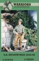 Warriors 1:35 US Infantryman 1943-45 Resin Figure Kit #35229