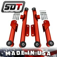 1979-2004 Mustang GT LX Cobra Red Rear Upper Lower Control Arms Kit w/ Hardware