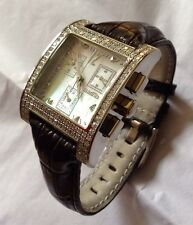 "New Women's Giantto ""Glitz"" Diamond Watch With Mother of Pearl Dial"