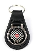 Triumph Bond Equipe GT Logo Quality Black Leather Keyring