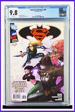 Superman Batman #84 CGC Graded 9.8 DC July 2011 White Pages Comic Book
