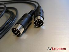 11 mtr. - BeoLab Câble Haut-Parleur Pour Bang & olufsen b&o Powerlink Mk2 (Noir, HQ)