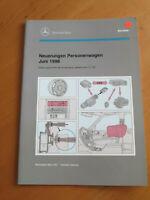 Mercedes Service Neuerungen PKW Juni 1996 - R129 - W 140 / 210 - M104/111-OM 606