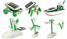 6 in 1 Solar Educational Kit Boat Fan Car Robot Toy Kids Toys Gift Growing kids