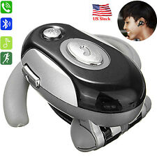 Voice Dial Bluetooth Headset Wireless Earphone for Samsung Galaxy S9 S8 S7 S6 S5