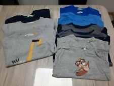 Paket mit 12 Sweatshirt bzw. Pullover Zwillinge Gr. 110 116