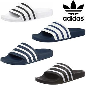 Adidas Adilette Herren Schuhe Badeschuhe Sandale Badelatschen Pantoletten