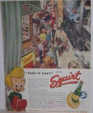 Original 1946 Squirt Soda Magazine Ad