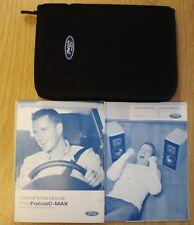 FORD FOCUS C-MAX HANDBOOK OWNERS MANUAL WALLET AUDIO 2003-2007 PACK 15999