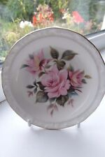 Royal Albert Pink Rose Trinket Dish Bone China British 12 cm Rare