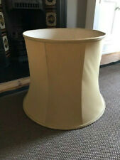 Extremely Large Vintage Old Gold Lampshade