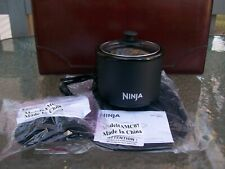 ~NINJA!~ MINI WARMER!~2 CUP CROCKPOT WITH SILICONE TRIVET AND MITTS!~NEW IN BOX~