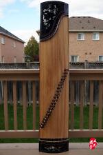 Scarlet Bird Zhuq Guzheng, Chinese Zither Harp, 朱雀古箏/古筝790