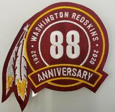 WASHINGTON REDSKINS 2020 - 88th ANNIVERSARY JERSEY PATCH