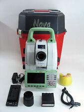 "LEICA NOVA MS60 1"" R2000 MULTISTATION ROBOTIC SURVEYING ONE MONTH WARRANTY"