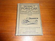 THE MODEL T FORD CAR & TRUCK INCLUDING FORDSON FARM TRACTOR DATED 1920