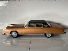 Muy raras detallada de alta gama Grande 1:18 Bos American modelo de coche Lincoln Town Car