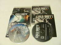 Black Ops I + II 1 2 Call of Duty COD - Sony PlayStation 3 PS3 Game Lot COMPLETE