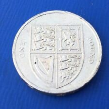 2012 SHIELD £1 COIN ONE POUND UK CIRCULATED