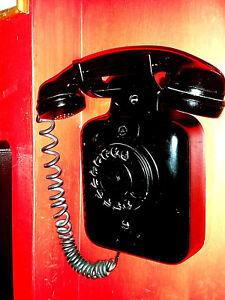 💎TELEFONO SIEMENS AUSO TELECOMUNICAZIONI VINTAGE EPOCA OLD SIP DA MURO PARETE💎