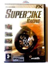 Superbike X Racing PC Nuevo New Sealed Precintado Retro Videojuego Videogame ITA