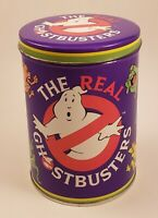 Vintage Ghostbusters Tin 1986 Foaming Bubble Bath Crystals (Empty Tin) RARE!