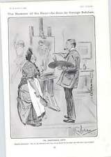 1906 Irresponsible Art Critic Cartoon Prehistoric Election F Edmonds