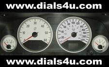 VAUXHALL OPEL ASTRA Mk4 (1998-04) - 220kmh (Petrol or Diesel) - WHITE DIAL KIT