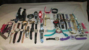 WATCHES MIXED LOT SPARES REPAIRS UNTESTED