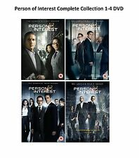 Person of Interest Complete Series Collection 1-4 DVD Season 1 2 3 4 UK Release