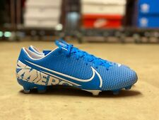 Nike Mercurial Vapor 13 Academy FG Mens Soccer Cleats Blue AT5269-414 NEW Size 8