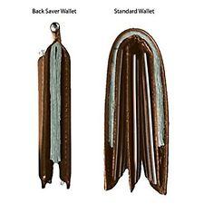Back Saver Wallet: TPK. Full Grain Leather
