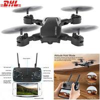 1080P Drohne Drone Selfie WIFI FPV HD Kamera Faltbare RC Quadcopter Spielzeug