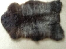 GENUINE SHEEPSKIN RUG (MIX OF BROWNS AND GREY - LARGE