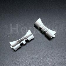19-21 MM End Links President Jubilee Watch Band Bracelet Fits for Rolex Silver