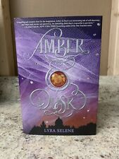 Amber & Dusk by Lyra Selene SIGNED Exclusive Owlcrate Edition Hardcover