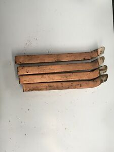 4off no19 edgar allen 1 1/2inch x 1inch butt welded tools (unused)