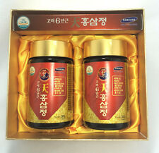 Koreanischer Roter Ginseng Extrakt Gold  240g x 2 Gläser Panax