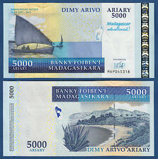 MADAGASKAR / MADAGASCAR 5000 Ariary (2008) UNC Commemorative P.94