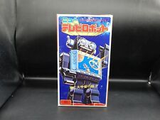 Horikawa vintage NEW TV ROBOT Japan plastic battery operated space toy w/ box !!