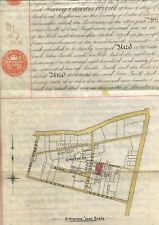 More details for vellum east hagbourne plan map 1912  berks / oxon engine driver manuscript
