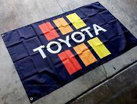 Toyota Flag 3x5 ft Banner Vintage