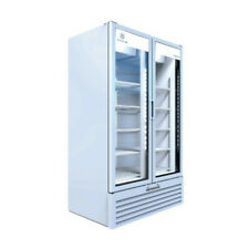 Beverage Air Mt49-1W Two Section Marketeer Refrigerated Merchandiser