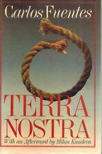 Terra Nostra 1987 SC BOOK