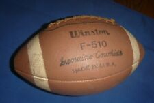 Vintage Winston Official size & weight Football F-510 Genuine Cowhide Made Usa