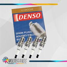 Set of 4 DENSO 5023 T16EPR-U15 U-Groove Spark Plugs Made in Japan GENUINE