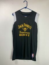 Womens Jack Daniels Tennessee Honey NBA Jersey Tank Size Medium