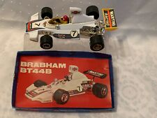 Vintage Friction Toy Brabham Bt44B Martni Race Car Hong Kong No.814 W/ Package