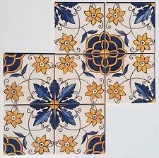 Hand Painted Ceramic Wall Tiles - From Sintra Portugal (price is for each tile)
